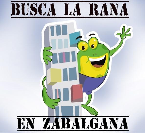"""FIESTAS DE ZABALGANA Y CONCURSO """"ENCUENTRA LA RANA"""""""