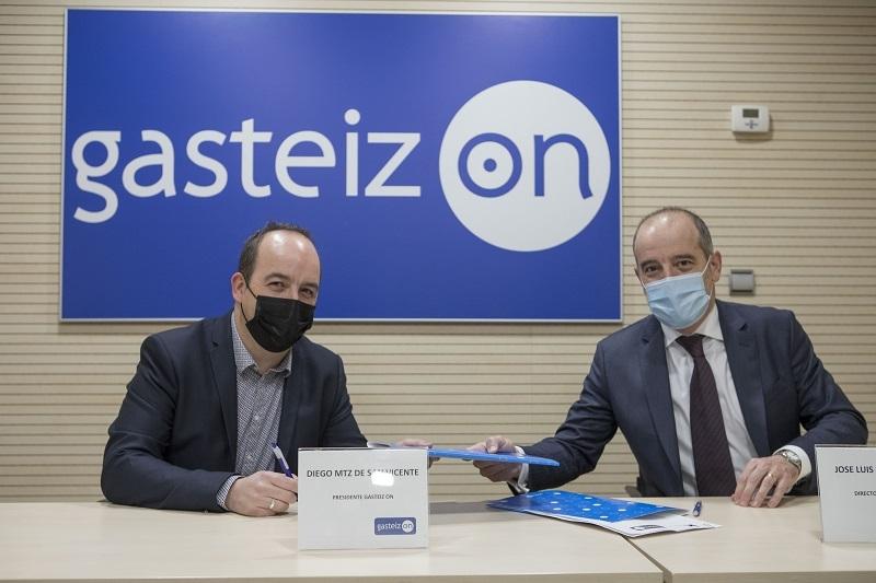 Acuerdo Entre Kutxabank y Gasteiz On