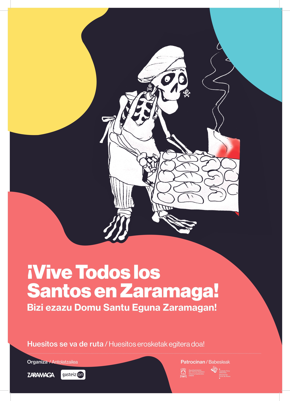 """Campaña en Zaramaga """"Huesitos se va de ruta"""""""