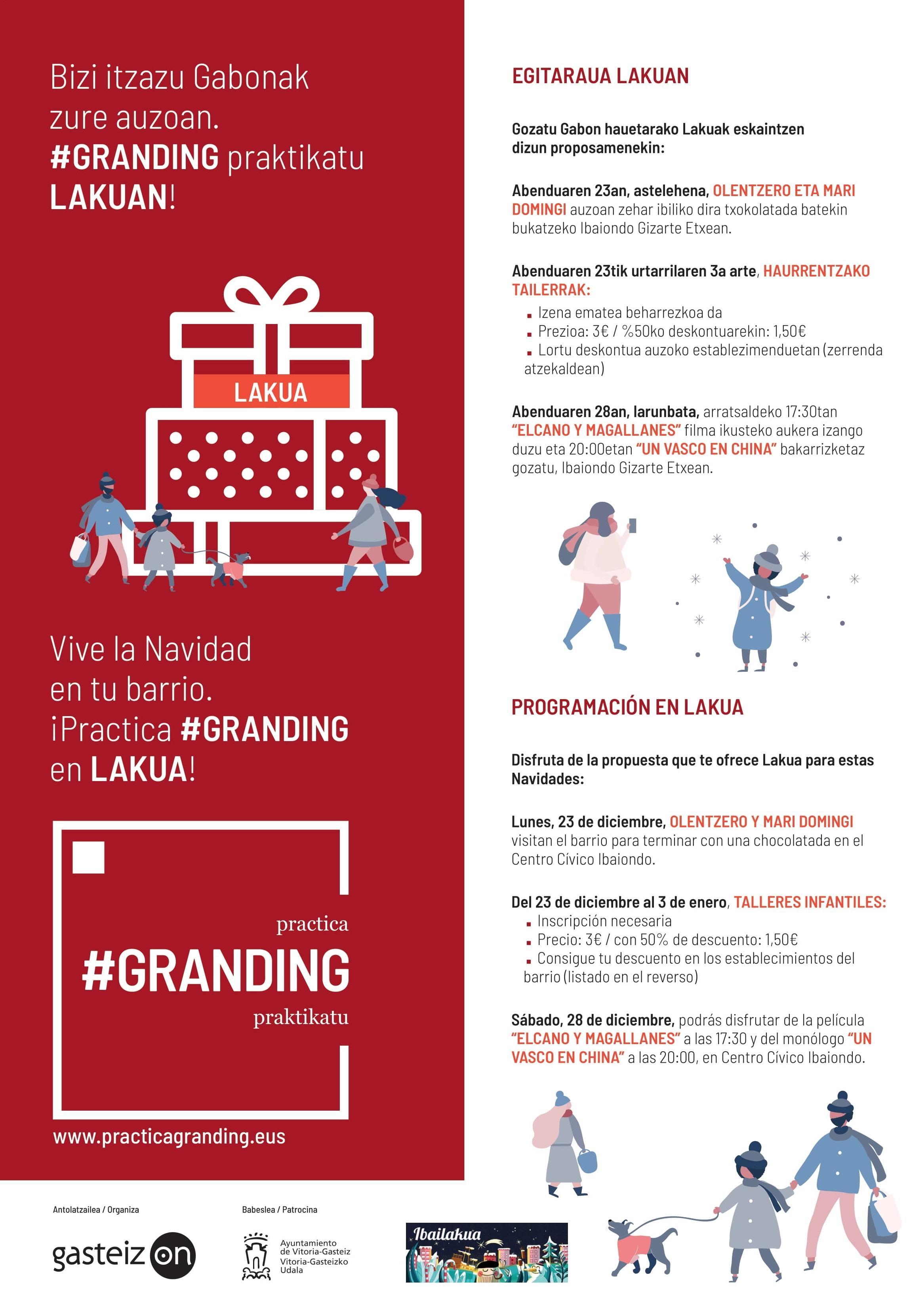 ¡Vive la Navidad en Lakua!