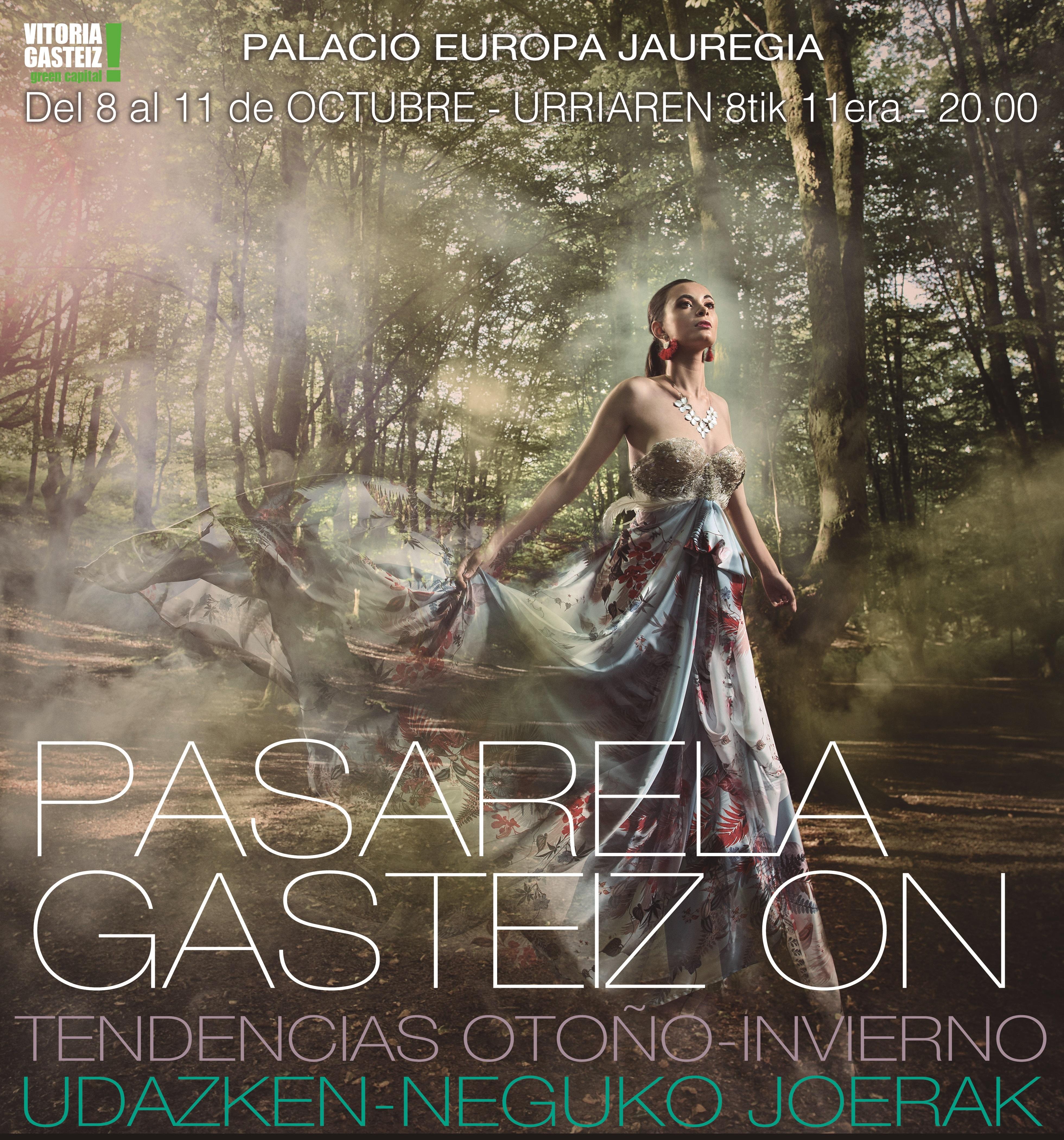 EL PALACIO DE CONGRESO EUROPA  ACOGERA DEL 8 AL 11 LA XXXVI PASARELA DE MODA GASTEIZ ON