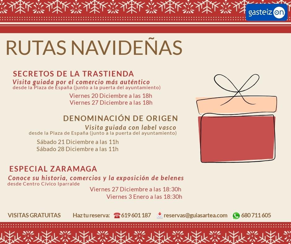 Rutas Navideñas gratuitas por Vitoria-Gasteiz