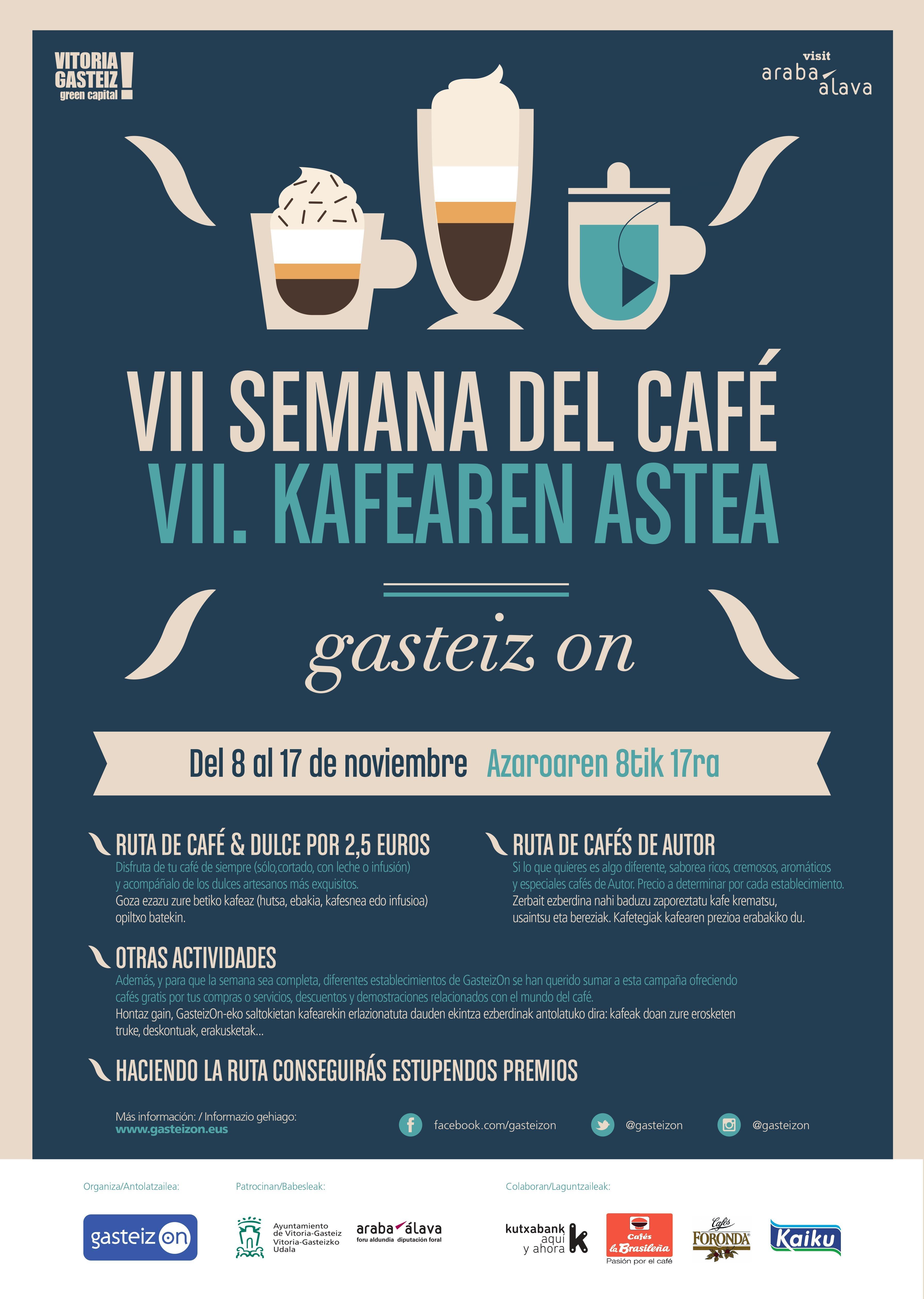Semana del Café 2019 (del 8 al 17 de noviembre)