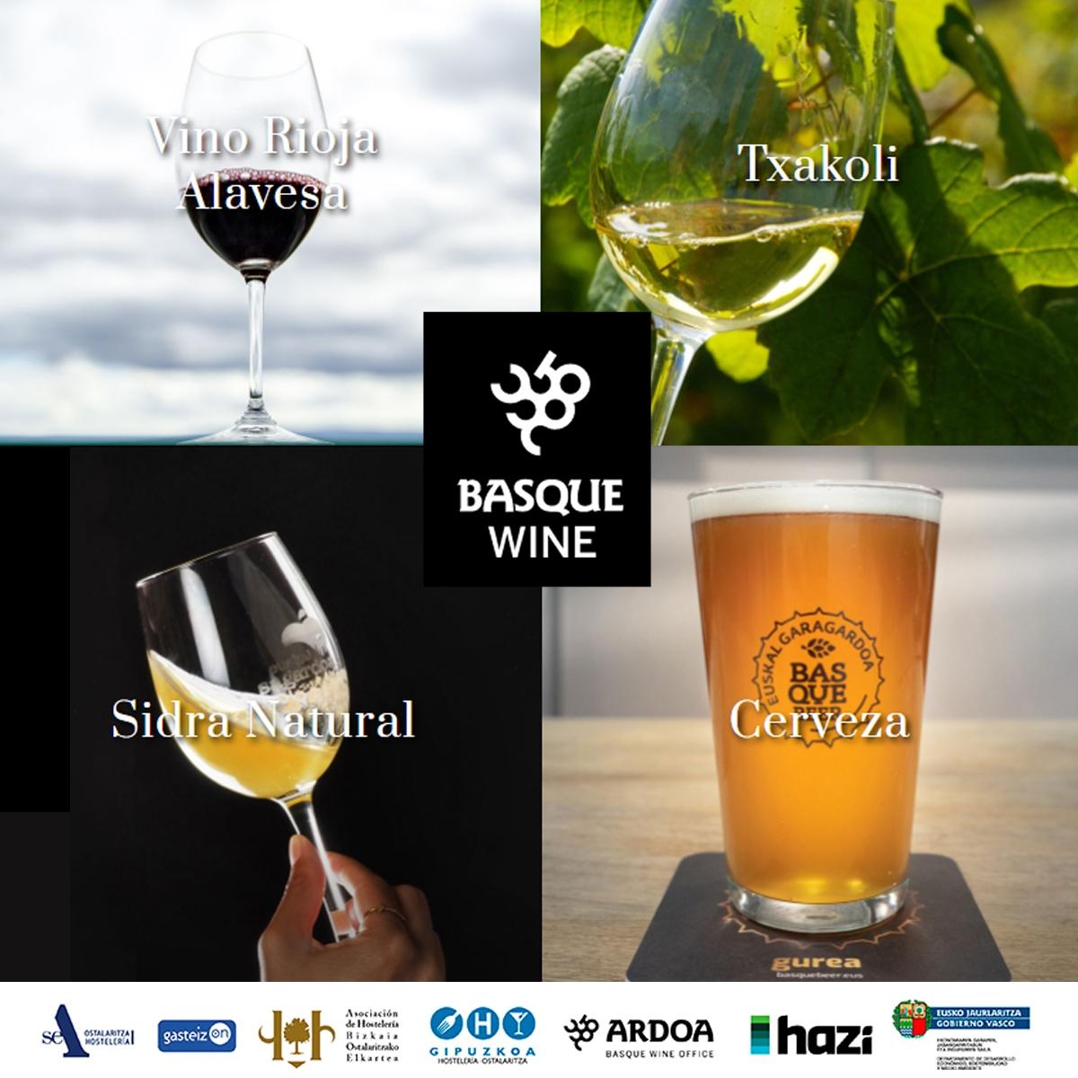 Gure ostalaritzan, Basque Wine