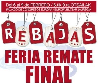 FERIA REMATE FINAL DE REBAJAS